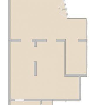 Grundriss Nebenfläche (88m²)