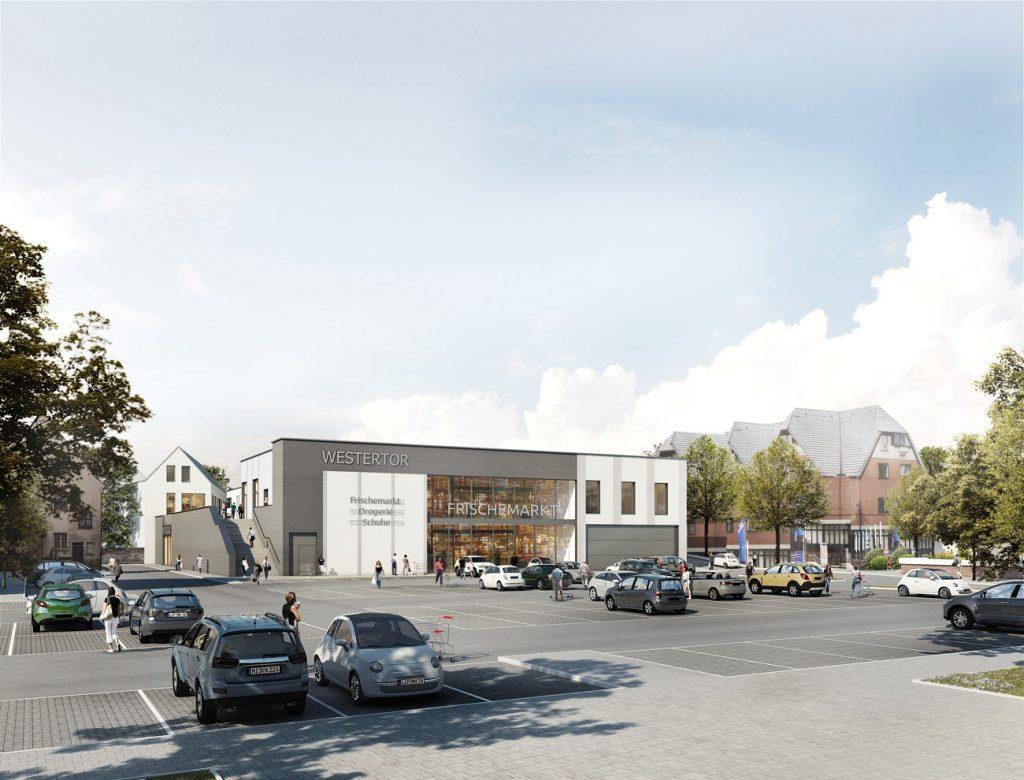 Das Westertor in Lübbecke – Neubau Ladenfläche in 1A City-Lage!