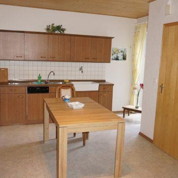 Große Küche...